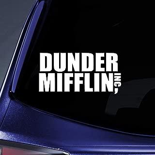 Bargain Max Decals - Dunder Mifflin Office - Sticker Decal Notebook Car Laptop 6