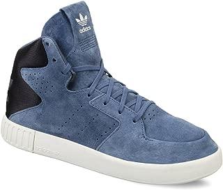 Zapatillas de Piel para Mujer Azul Azul