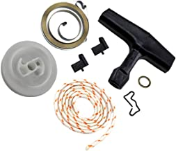 Euros Recoil Rewind Spring Starter Pulley Grip Rope Rotor Pawl Fit for STIHL MS290 MS390 Chainsaws