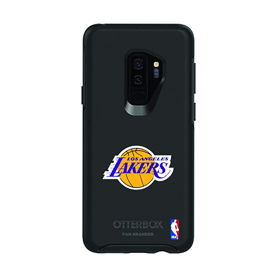 Fan Brander NBA Phone case Compatible with Samsung Galaxy S9 Plus and OtterBox Symmetry Series