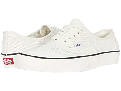 Vans Authentictm Mesh SF ((Mesh) Marshmallow/Marshmallow) Athletic Shoes