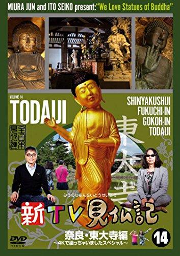 新TV見仏記14 奈良・東大寺編 ~4Kで撮っちゃいましたスペシャル~ [DVD]