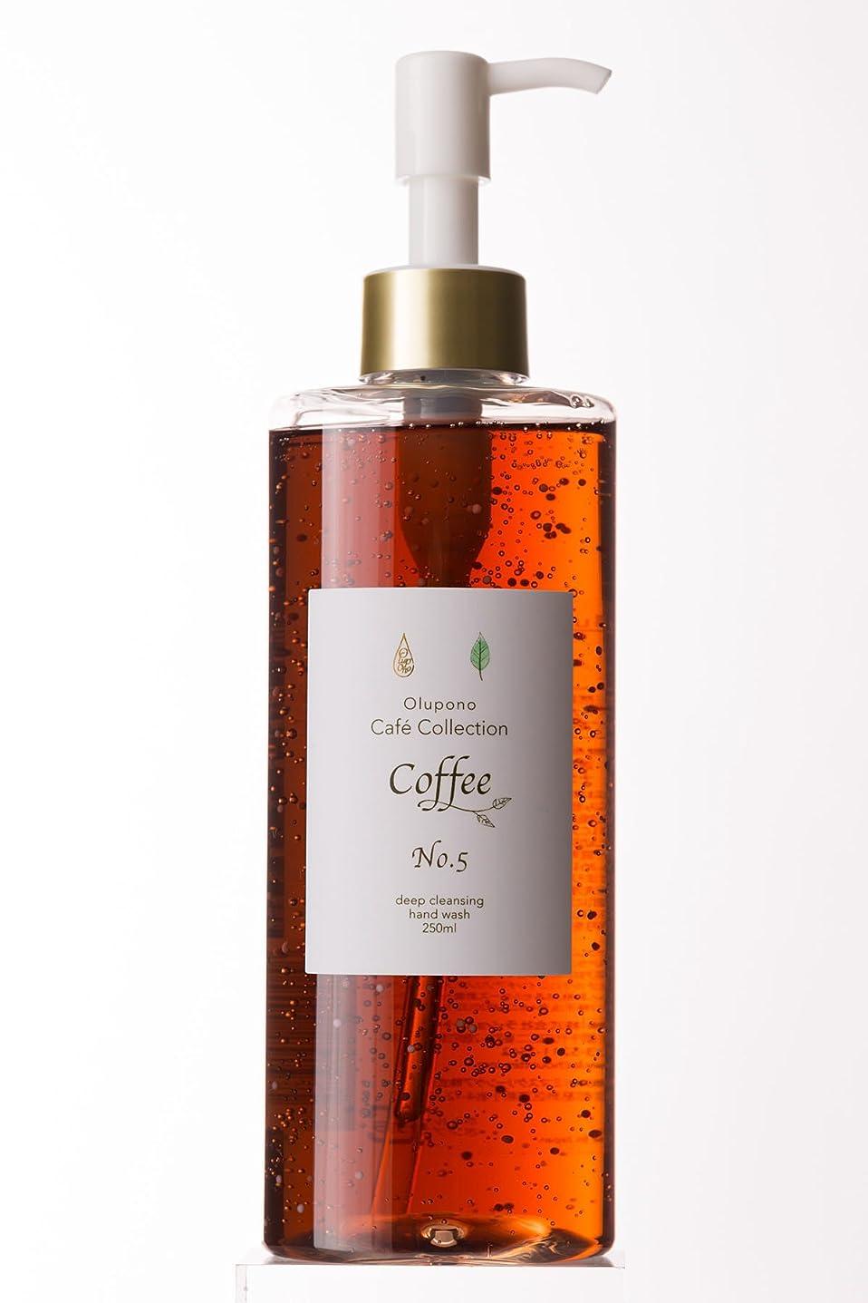 病気容赦ないリスクハンドソープ オルポノ カフェコレクション コーヒー No.5