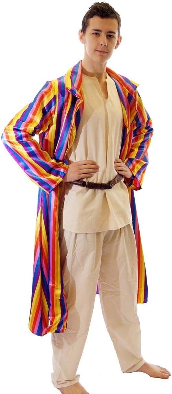DanceMusicalTheatreFancy Dress JOSEPH TECHNICOLOUR DREAMCOAT COMPLETE MEN'S COSTUME  From Sizes XLXXXXL (Men  XXLarge)