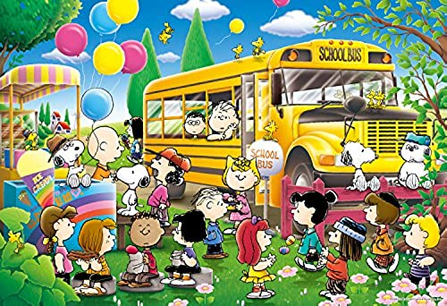 300 Piece Snoopy school bus 3-817 (japan import)