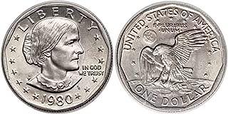 1980 P, D, S Susan B. Anthony Dollar 3 Coin Set Uncirculated