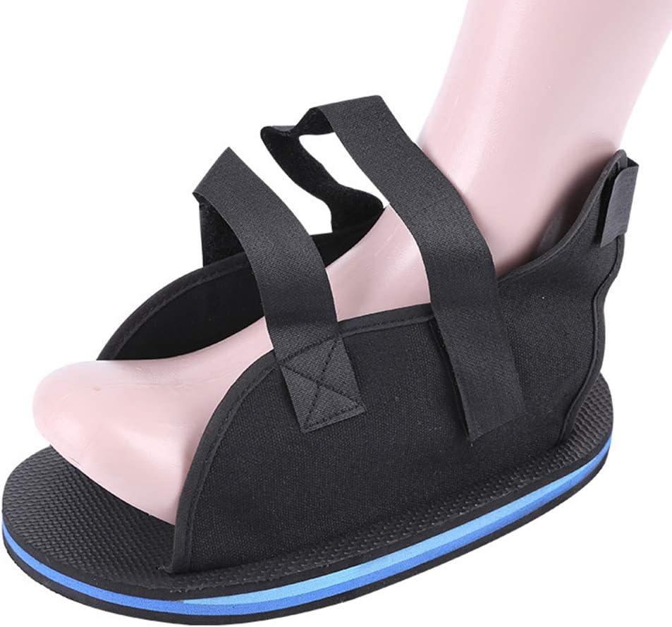 PHASFBJ Zapatos De Yeso con Fractura De Pie, Zapatos De Cirugía De Rehabilitación Calzado Ortopédico Quirúrgico para Fractura de Pie Botas Soporte Fascitis Plantar