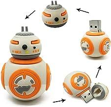 Star Wars BB8 Robot 64GB USB Flash Thumb Drive Storage Device