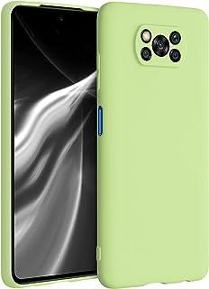 kwmobile telefoonhoesje compatibel met Xiaomi Poco X3 NFC/Poco X3 Pro - Hoesje voor smartphone - Back cover in pistache