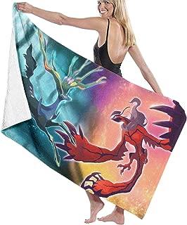 Bath Towel Ntense Symphonic Metal Cover of Battle Xerneas Yveltal Zygarde Lightweight Soft Spun Cotton Bathroom Towel 30x52 Inch