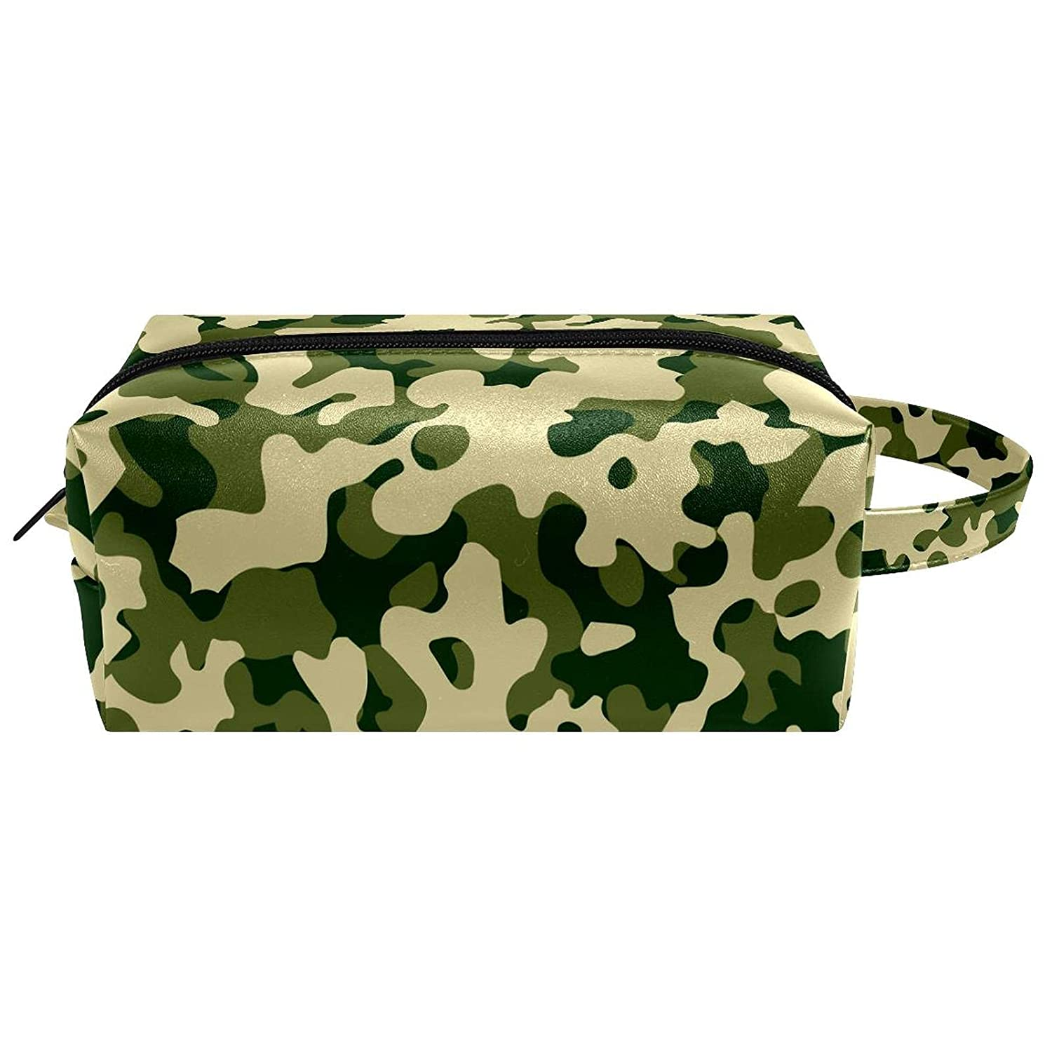 Cheap super special price Large Travel Cosmetic Bag For Green Tra Sales for sale Pattern Camouflage Women