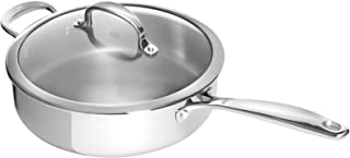 OXO Good Grips Tri-Ply Stainless Steel Pro 4QT Covered Skillet