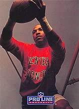1991 Pro Line Portraits Football #94 Mark Jackson Denver Broncos Official NFL Trading Card