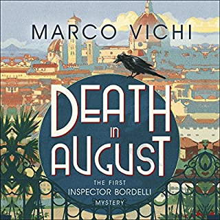 Death in August audiobook cover art