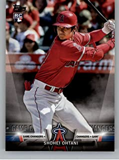 2018 Topps Update and Highlights Baseball Series Salute #S-39 Shohei Ohtani Los Angeles Angels Official MLB Trading Card