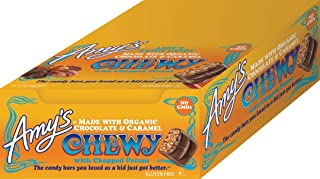 Amy's Chewy Candy Bar, 12 Count