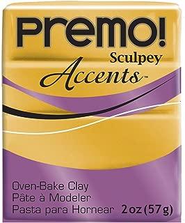 Premo Sculpey Polymer Clay 2 Ounces-18K Gold