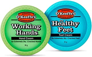 O'Keeffe's Working Hands 96G & Healthy Feet 91G Twin Pack