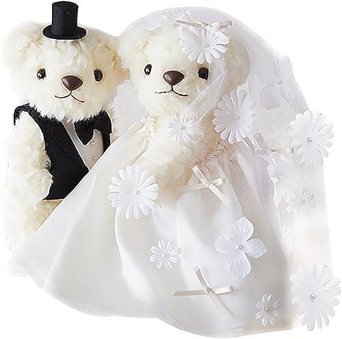 venta al por mayor barato Kit velo de de de la boda del trebol flor de la boda del oso de 68-762  ventas al por mayor
