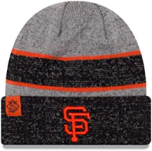 New Era Hat San Francisco Giants Gray/Black/ Orange Beanie Knit 11453128
