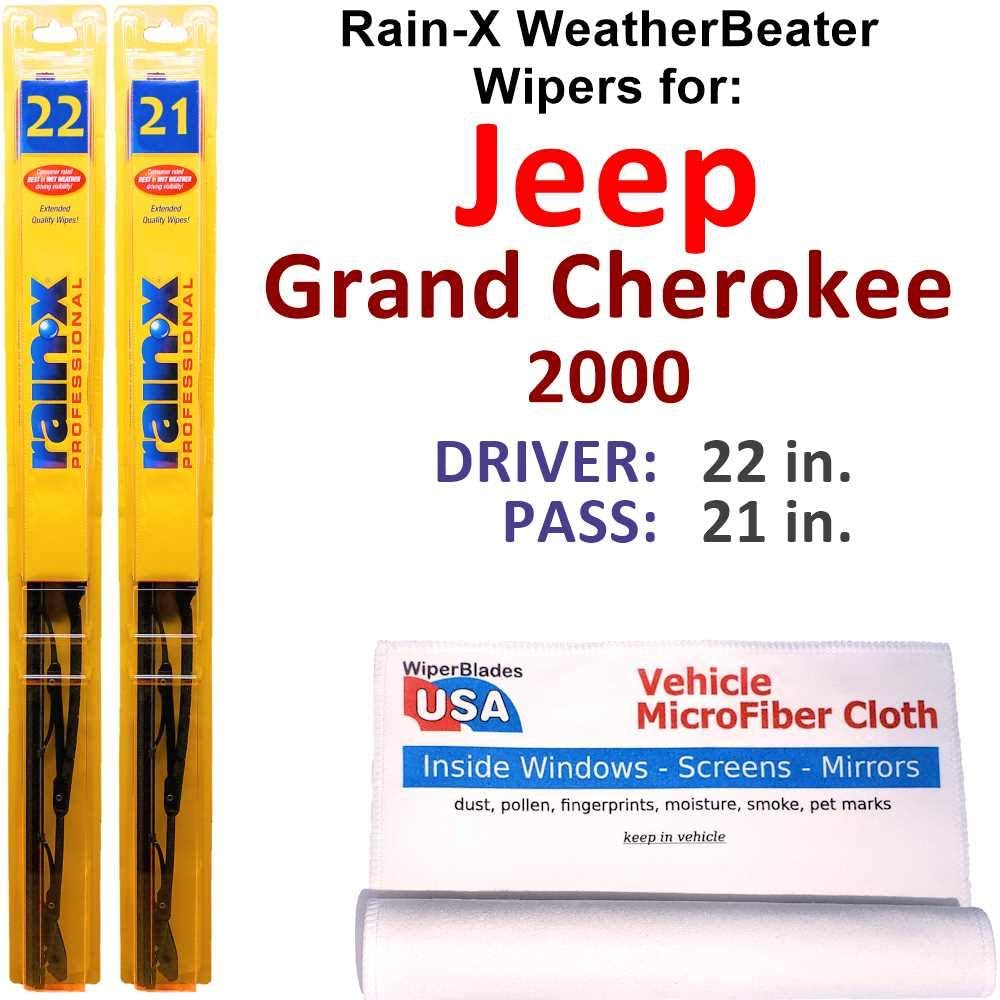 Cheap super special price Rain-X WeatherBeater Wiper Blades for S Product Jeep Grand Cherokee 2000