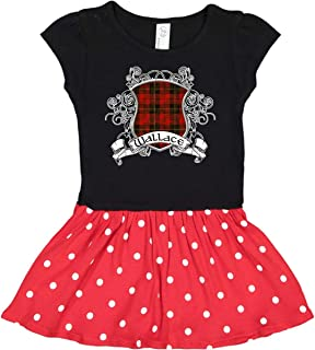 Wallace Tartan Shield Infant Dress