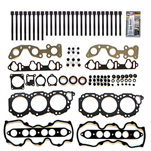 SCITOO Replacement for Head Gasket Bolts Kits for Infiniti for Nissan Frontier Pathfinder 3.3 VG33E 1996-2004 Engine Head Gaskets Set Kit