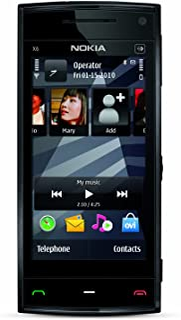 Nokia X6 Unlocked GSM Phone, 16GB, Black