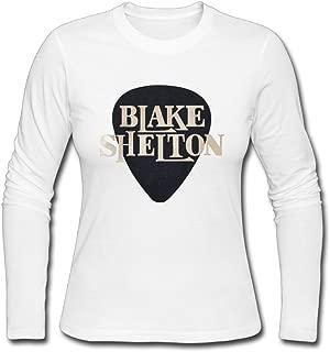 Blake Shelton T-Shirts Nice Long Sleeved Shirts for Women