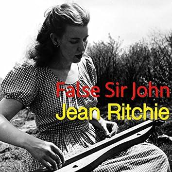 False Sir John