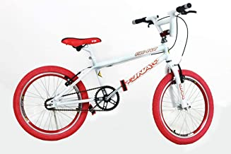 Bicicleta Aro 20 Bmx Cross Freestyle Aero Branco com
