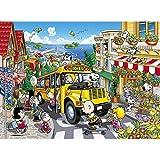 WUJINJ Calidad Comics Jigsaw Puzzle de Madera, Snoopy Corte Fino y Apto 300/520 PC en Caja Juguetes Arte del Juego for Adultos y niños (Color : D, Size : 520pc)