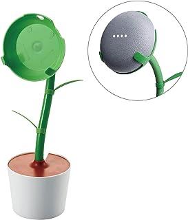エレコム Google Home Mini 用 FlowerStand フラワー スタンド グリーン AIS-GHMFLOWER