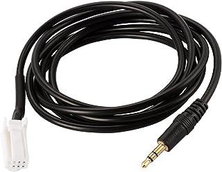 kesoto Cabo adaptador de áudio de carro AUX de 3,5 mm para interface de entrada e música para Suzuki Vitra