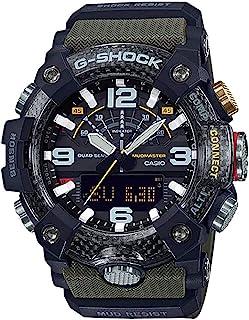 GGB100-1A3 Master of G Mudmaster Men's Watch Green 55mm Carbon