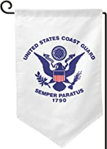 United States Coast Guard 1790 Double Sided Garden Flag for Yard Home Flag 12.5 X 18 Inch