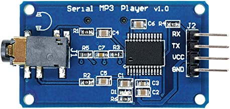 Aideepen YX5300 UART Control Serial MP3 Music Player Module for Arduino/AVR/ARM/PIC