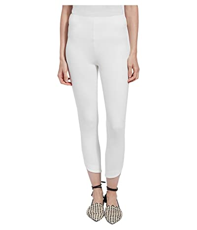 Lysse Jasmyne Crop Leggings in Lightweight Ponte (White) Women