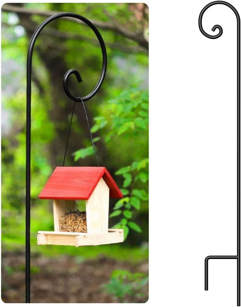 pole for single bird feeder