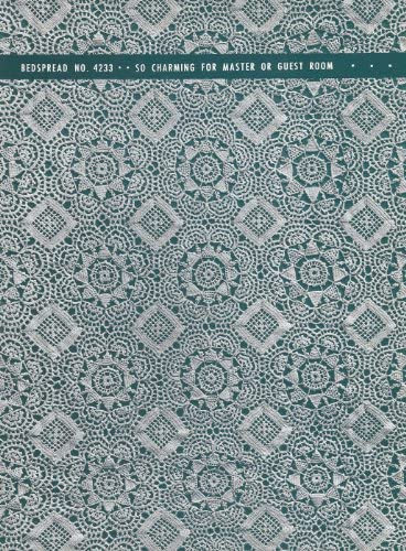 Vintage Crochet PATTERN to make Max 85% OFF MOTIF - online shopping BLOCK Bedspread Swedish