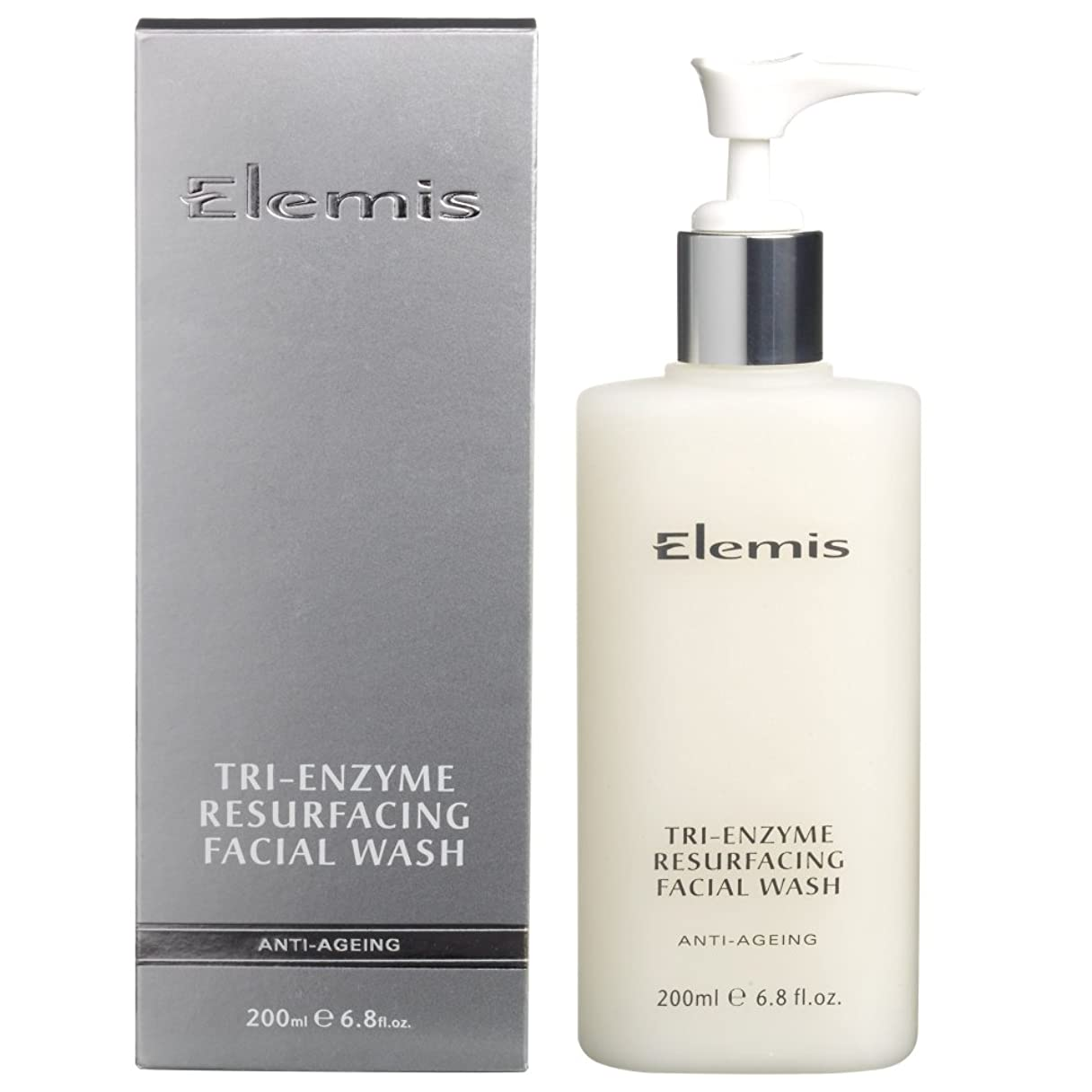 農学正確さ化学洗顔料を表面再建エレミストライ酵素 (Elemis) (x6) - Elemis Tri-Enzyme Resurfacing Facial Wash (Pack of 6) [並行輸入品]