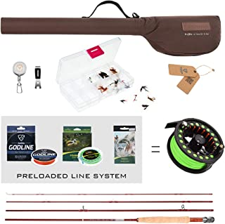 Best fly fishing pole for beginners Reviews