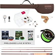 FISHINGSIR Fly Fishing Rod and Reel Combo Anglers Fly Fishing Outfit Complete Starter Full Kit