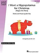 Best i want a hippopotamus for christmas sheet music Reviews