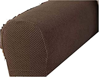Maytex Mills, Inc. The Lakeside Collection Set of 2 Stretch Armrest Covers - Chocolate