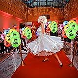 Gejoy 24 Stück Ich Liebe 80 Jahre Luftballons Sortiert Farbe Latex 80 Jahre Luftballons für 1980er Jahre Retro Themen Dekorationen Geburtstag Party - 2