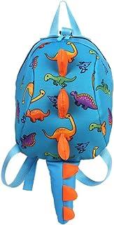 Mochila Escolares para Niños Niña 3D Dinosaurio Animal Mochilas Colegio Bolso para Guardería Primaria del 2 a 6 años Infantiles (Azul)