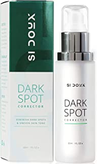Si Doux Dark Spot Corrector Remover for Face and Body; Age Spot and Freckle Remover; Enhanced with Advanced Ingredient 4-B...