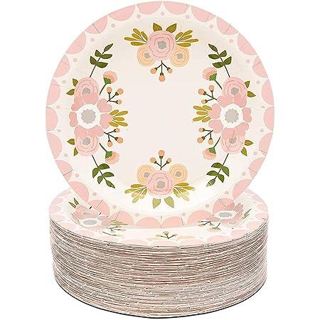 confezione da 8 perfetti per compleanni anniversari Piatti piani con menta baby shower Meri Meri Meri