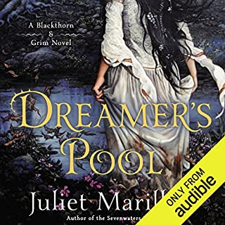 Dreamer's Pool     Blackthorn & Grim, Book 1              By:                                                                                                                                 Juliet Marillier                               Narrated by:                                                                                                                                 Scott Aiello,                                                                                        Natalie Gold,                                                                                        Nick Sullivan                      Length: 17 hrs and 44 mins     114 ratings     Overall 4.5